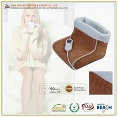 Washable Fleece Electric Foot Warmer