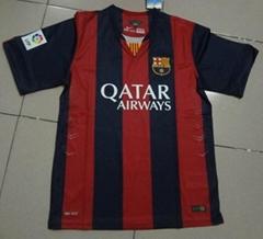 2014new season barcelona jersey