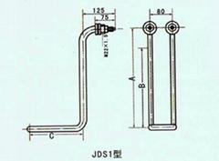 普通JDS型水用管狀電熱元件