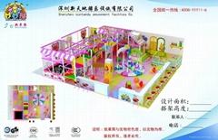 妙妙屋厂家销售新款淘气堡儿童乐园,儿童游乐园设备