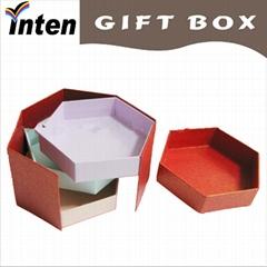 tri- layer chocolate packing thin gift box