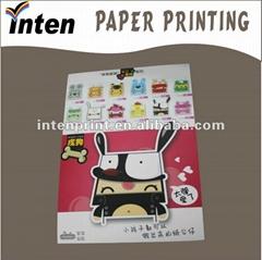 printed promotional handmade greeting card