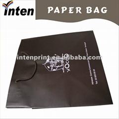 pp rope handle chocolate bag with logo printing