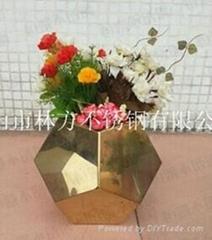五稜形插花花瓶