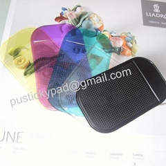 car's dashboard PU anti slip pad magic sticky pad nano pad non slip pad