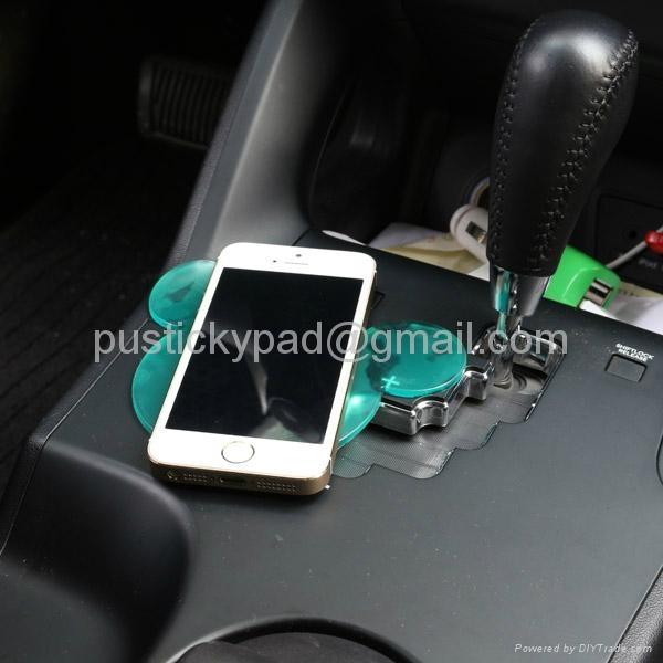 Fashional Strong Sticky Anti Slip Pad For Cars Magic pad Non slip pad 3