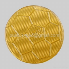 New Arrival football style PU gel sticky car anti slip pad