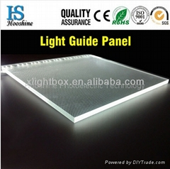Light Guide Plate Acrylic Sheet LGP