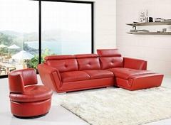 新款热卖现代真皮沙发 厂家直销