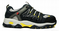 Microfiber with TPU Safety shoes Cemented shoes