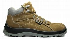 Full grain nubuck safety shoes