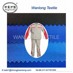 "t/c twill fabric 20x20 108x58 58"" coverall fabric workwear fabric t/c 65*35 over"