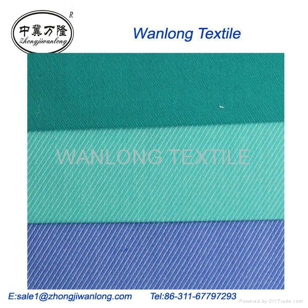 TWILL FABRIC FOR WORKWEAR 100%cotton 32*21 133*78  63'' 3