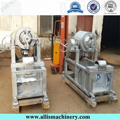 High capacity rice puff food making machines