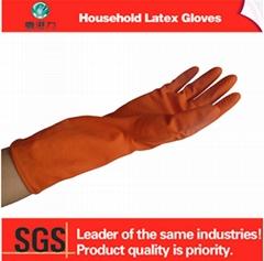 latex durable household gloves