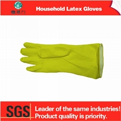 latex colorful household gloves for kitchen