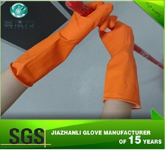 latex unlined household gloves supplier