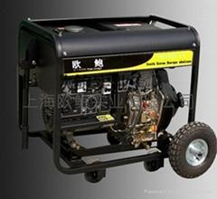 天津190A柴油发电电焊机