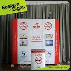 adverting flying banner