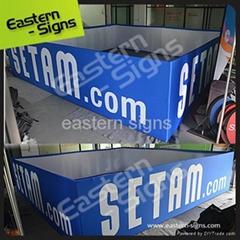 indoor handing banner signs