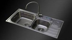 超声波清洗机智能水槽kc-2019A