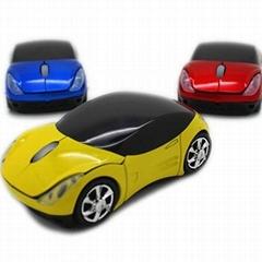 法拉利跑车2.4g无线礼品促销鼠标