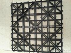 黑色塑料地垫