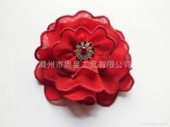 Head flower corsage
