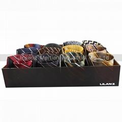 High acrylic tie or belt  storage box