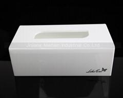 New arrival acrylic tissue box