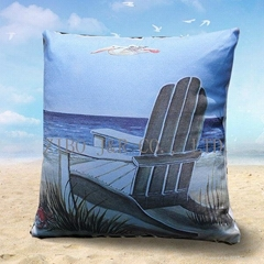 100% polyester boat wholesale throw pillow cover