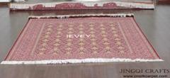 Chinese handmade silk carpet for decoration