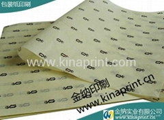 2014 Custom printed tissue paper
