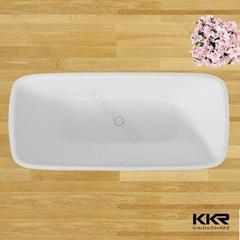 High quality bathroom artificial stone bathtub