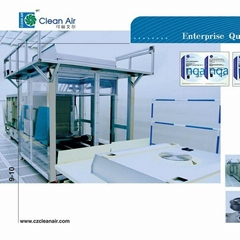Industrial application of clean equipments