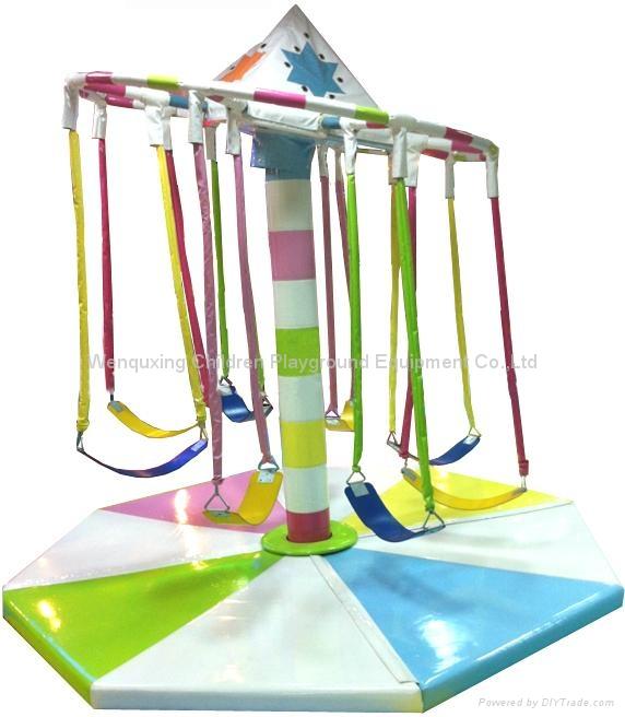 Preschool children indoor soft play gmae equipment wqx for Indoor gym equipment for preschool