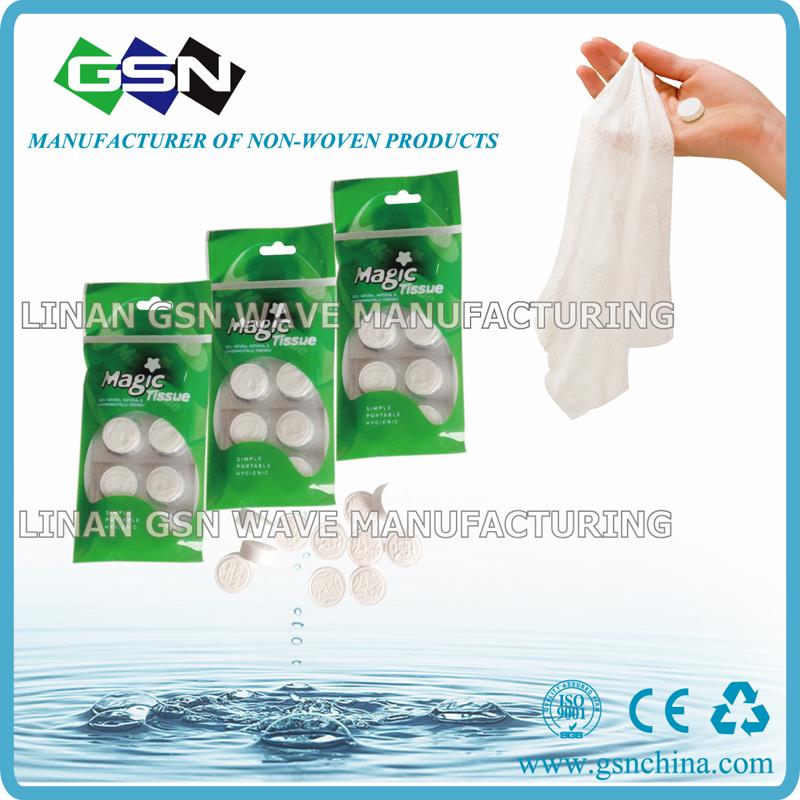 biodegradable cotton paper tissue towel compressed tablet napkin 1