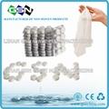 biodegradable cotton paper tissue towel compressed tablet napkin 5