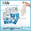 compressed cotton magic towel wet wipe coin napkin for travelling  2