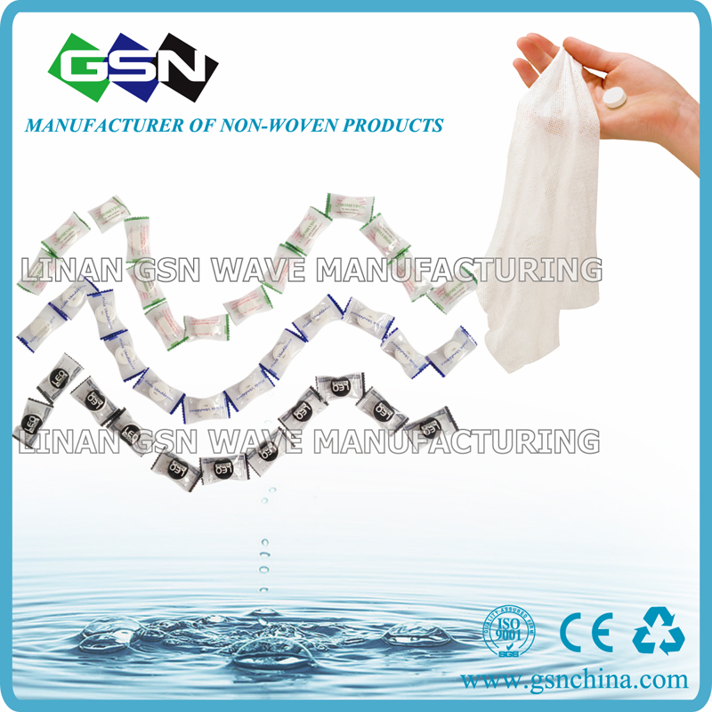 compressed cotton magic towel wet wipe coin napkin for travelling  3