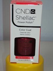 CND Nail Shellac UV Gel Nail Color Polish Mother of Pearl .25 oz