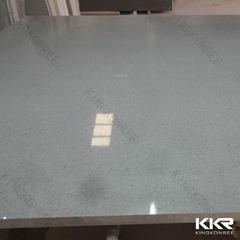 High polished grey engineering artificial quartz stone