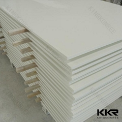 Easy maintain bacteria resistant varies color artificial stone sheet