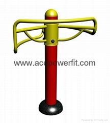 Leg Pliability Developer  of outdoor fitness equipment