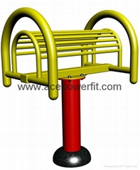 Back Arch  of outdoor fitness equipment