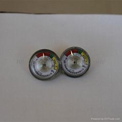 powder fire extinguisher pressure gauge