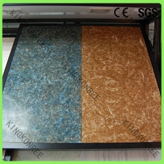 Nearly zero water absorption acrylic solid surface decorative resin wall panel