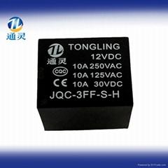 PCB power relay JQC-3F (T73)12Vrelay