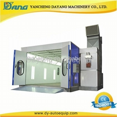 car spray booth for automobile painting and baking