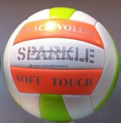 size 5   foam pvc volleyball beach volleyball